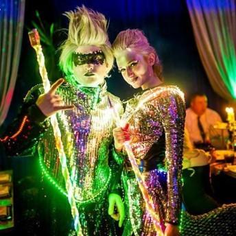 Световое шоу Silver Dreams