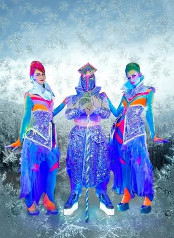 Световое шоу Snow Angels