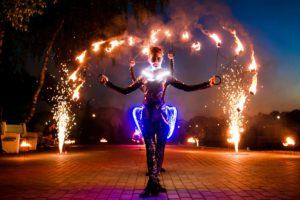 Огненное шоу SilverFire
